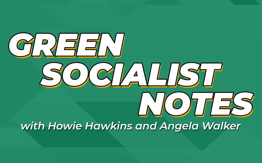 Green Socialist Notes, Episode 065: Frank Chapman and Community Control of the Police