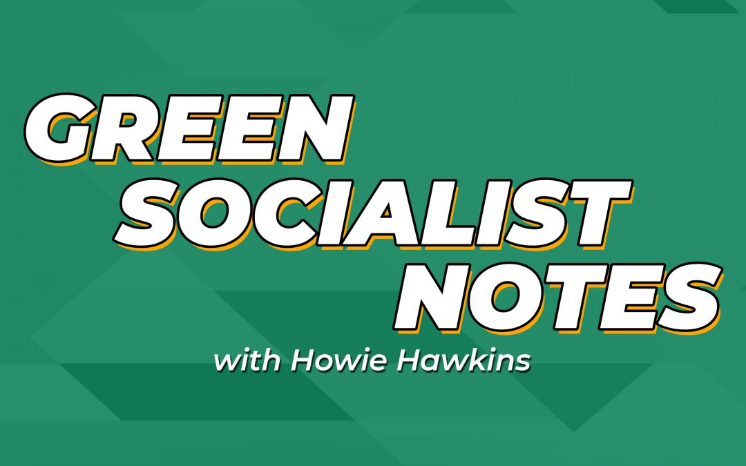 Green Socialist Notes, Episode 072